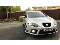 SEAT LEON FR 2.0T FR MANUAL IN SILVER FOR SALE