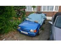 1986 xr3i cabriolet spares or repair