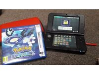 Nintendo 3DS XL Red Mint condition + 4 games