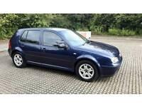 VW GOLF TDI 2001 12 MONTHS MOT