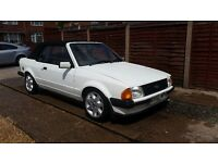 Ford escort mk3 cabriolet not rs turbo rs1600i