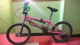 BMX - Pink Eastern Bikes Custom BMX Fixie