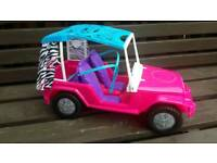 BARBIE safari jeep