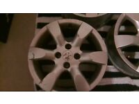 Peugeot Alloy wheels (Set of 4)
