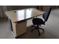Complete Home or Office Setup. Office Desk, Office Chair, Office Drawer/Pedestal