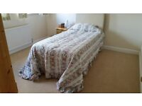 DORMA SINGLE/DOUBLE QUILTED BED THROW