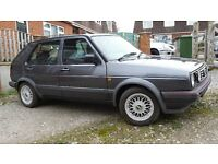 VW MK2 Golf 1.6 JX Turbo Intercooled GTD 1991 J Reg Factory Standard (No Mods)