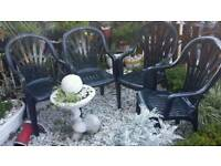 Garden Chairs (4)