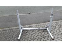 POWERLINE WEIGHTS SQUAT & BENCH PRESS RACK