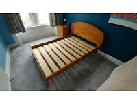 Double bed frame - pine