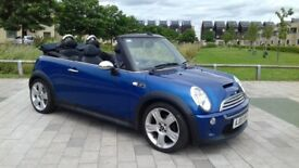 2005 MINI COOPER S 1.6 CONVERTIBLE SUPERCHARGED
