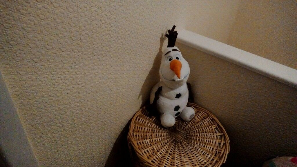 Soft toy Olaf from Frozen