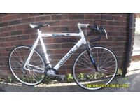 AMMOCO SPORT RACING BIKE LARGE 23in/58cm LIGHTWEIGHT ALLOY FRAME EXC COND ONLY USED 3 TIMES