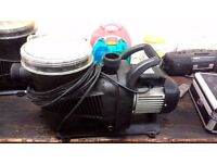 TWO SWIMMING POOL/ LARGE POND CIRCULATION PUMPS £60 each