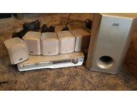 JVC DVD Digital Cinema Surround Sound System