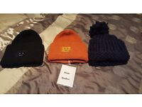 Brand NEW! - Acne Studios Pansy wool 3 x hats