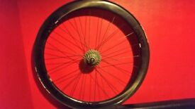 Enve 3.4 carbon wheels.