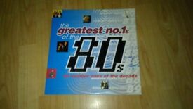 The Greatest No.1s Of The 80s - double vinyl LP
