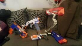 Nurf guns toys
