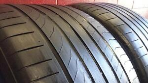 Pair of 2 ~~~ 325/35R22 Continental SportContact 5 (MO) GLE Mercedes Original~~~ SUMMER ~~~ 60%tread