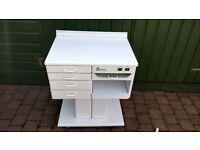 Work /storage unit podiatry /pedicure/hobby station