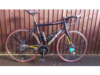 Boardman Road Race Bike, 55cm, All New parts, Triple butted tubing, Carbon forks.