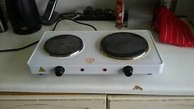 Two hot plates