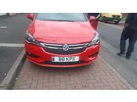 Vauxhall astra ecoflex sri 1L turbo petrol Reg 16