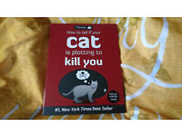 Book - How to tell if your cat is plotting to kill you