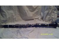 "A BEAUTIFUL "" EMPEROR "" A CLARINET by B & H . IN EXCELLENT CONDITION +++++++++++++"
