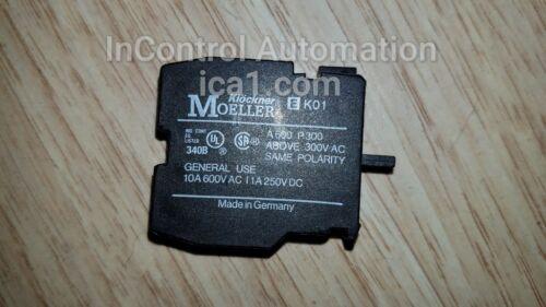 Klockner Moeller M22-K01 Contact Block New