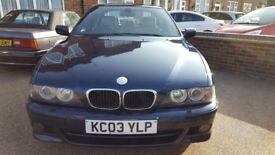 BMW E39 530i M Sport Saloon, *Individual Aegean Edition* 1 of 150, Auto, 2003, 105k Miles, MOT