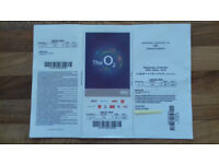 U2 TICKETS FOR O2 LONDON-24th of October 2018