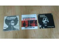 3 x 7 inch jimi hendrix - no such animal / crawl out your window / voodoo chile