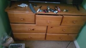 spacious chest of drawers