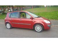 Renault scenic 2007 petrol 1.6 manual 10 months mot