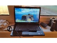 dell inspiron 1545 windows 7 2g memory 120g hard drive webcam wifi dvd drive charger