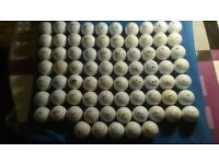 50 golf balls excellent condition