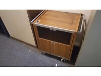 FREE TO COLLECTOR! Retro TV Stand / Trolley