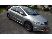 2010 Honda Civic 1.8 i VTEC Si 5dr , very good condition, low mileage 38000