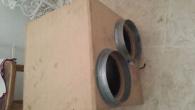 ASSORTED 10INch EXTRACTOR FANS HIGH QUALITY 3 WOODEN 1 METAL £ 500 bargin plus dual ducting