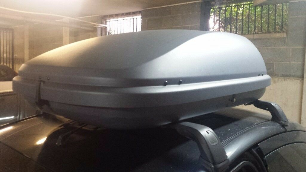 Halford roof box good condition like new 420 l