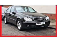 (79980 Miles)-- Mercedes Benz C Class 1.8 AUTO -- Avantgarde SE C180 Kompressor -- LEATHER Seats -PX