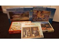 jigsaw puzzles big job lot of 20 in total