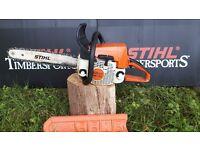 Stihl ms230 petrol chainsaw