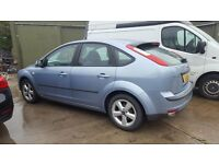 2006 Ford Focus new cambelt kit &water pump/Full service/Brand new rear tyres/Will get 12mnths MOT