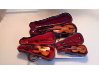 3 Small Stringed Instraments