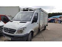 Mercedes sprinter LWB fridge freezer van , px for tipper or recovery.