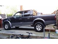 2004 FORD RANGER XLT THUNDER DIESEL 4X4 PICK UP DOUBLE CREW CAB TRUCK/ VAN