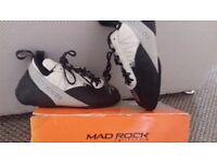 mad rock calafornia climbing shoes